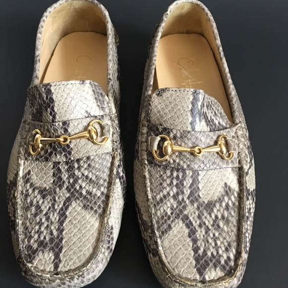 b338a294287 Cole Haan Shoes - Cole Haan Women s Snakeskin Driving Loafer ...